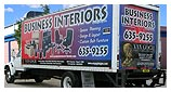 Delivery truck - Building of Business Interiors of Tampa Bay