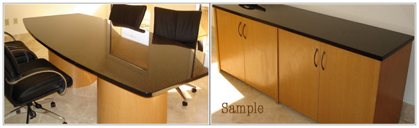 We Custom Build Office Furniture!