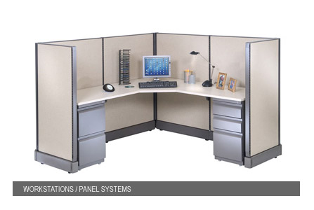 DEVON office panel systems and workstations